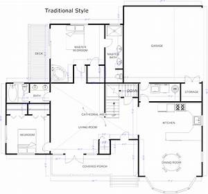 Free house floor plan design software simple small house for House plans free software