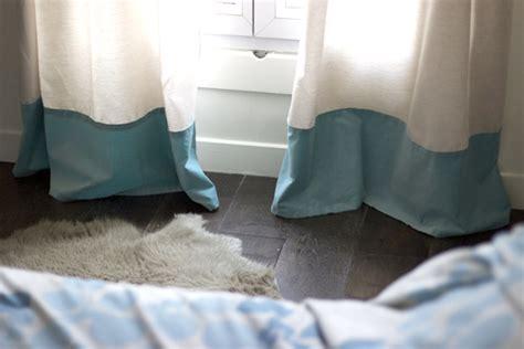 comment confectionner un rideau diy rallonger des rideaux trop courts mode bon plans et diy