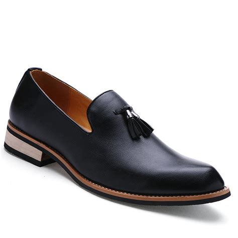 fashion genuine leather men formal casual business