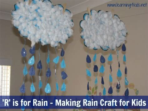 r is for amp a craft learning 4 206 | R is for Rain