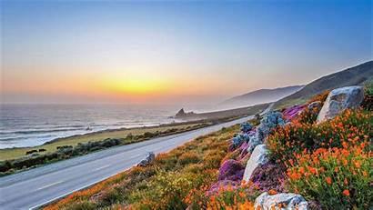 Sur California Background Desktop Wallpapers Road Coast