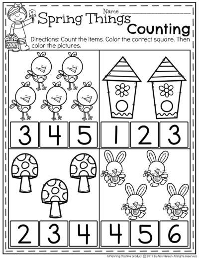 spring preschool worksheets preschool worksheets planning playtime 480