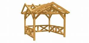 Holz Bauplan De : gartenpavillon selber bauen holz ~ Frokenaadalensverden.com Haus und Dekorationen