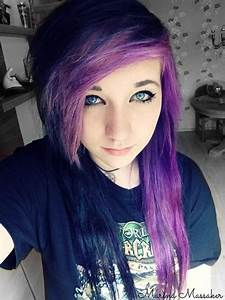 The gallery for --> Black Blue And Purple Hair
