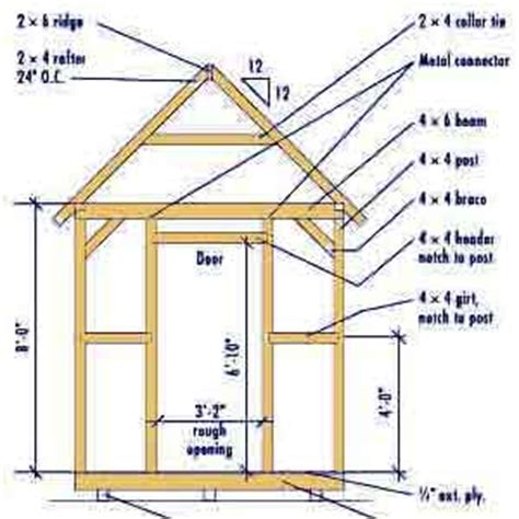 10 x 16 wood shed plans 10 x 16 shed building plans guide iswandy