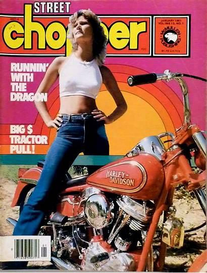 Biker Magazines Magazine Covers Chopper 1980s 1981