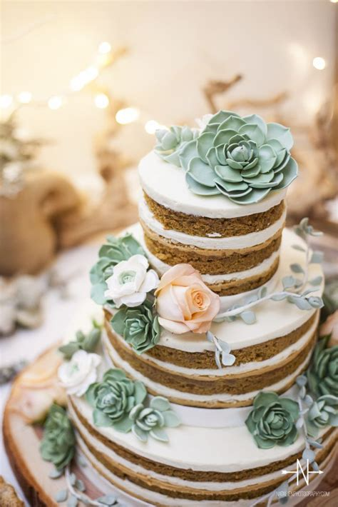 25 Best Ideas About Succulent Wedding Cakes On Pinterest