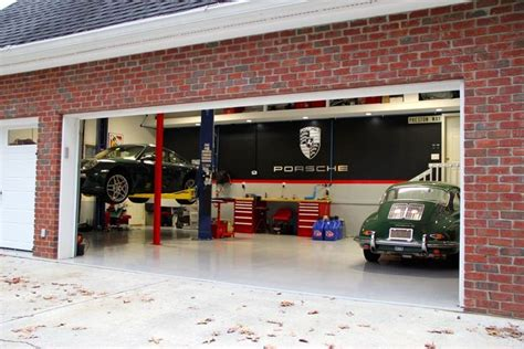 porsche garage decor porsche garage home garage motor court show room