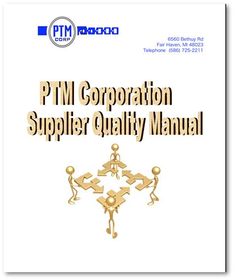 Our Supplier Quality Manual Ptm