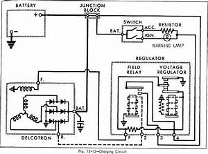 Charging Circuit Diagram Of 1966 Oldsmobile 33 Through 86 Series  60079