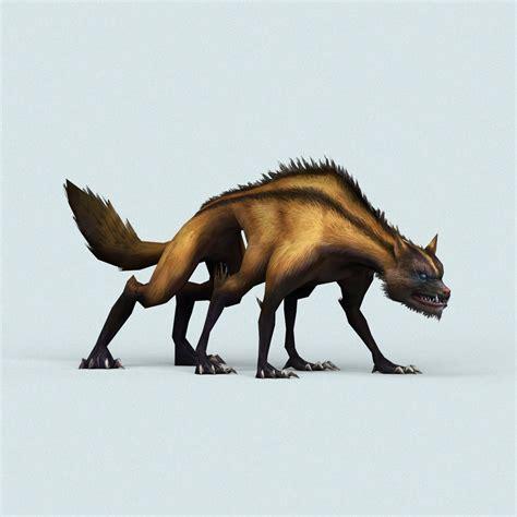 Monster Hyena by treeworld3d | 3DOcean