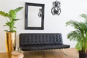 Spiegel Mit Schwarzem Rahmen : nice spiegel mit schwarzem barock rahmen ~ Buech-reservation.com Haus und Dekorationen