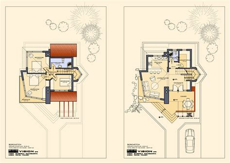 how to blueprints for a house floor plans of lovely ski chalet to bansko