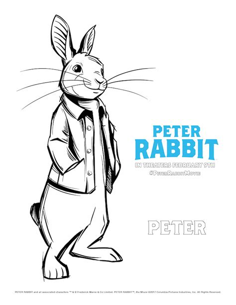 peter rabbit  coloring pages redhead baby mama