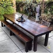 Make Outdoor Wood Table by Rustic Outdoor Furniture With Modern Concept Worth To Have Traba Homes