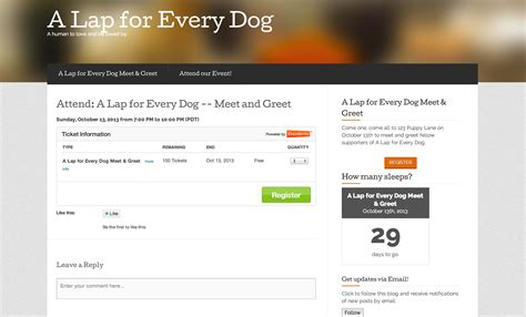 Promote Your Events With Eventbrite Themes And Widgets On