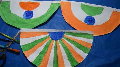 Indian Republic Or Independence Day Craft/ Kids Craft