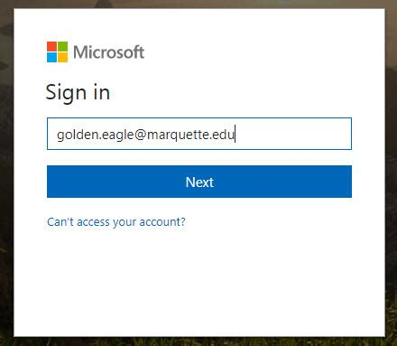 Office 365 Email Login by Log In To Office 365 Portal It Services Marquette