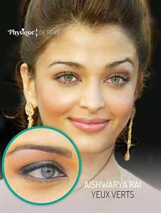 Yeux Verts Rares : yeux bleus gris physique de r ve ~ Nature-et-papiers.com Idées de Décoration