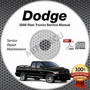 2006 Dodge Ram Truck 1500 2500 3500 4000 Dx Srt
