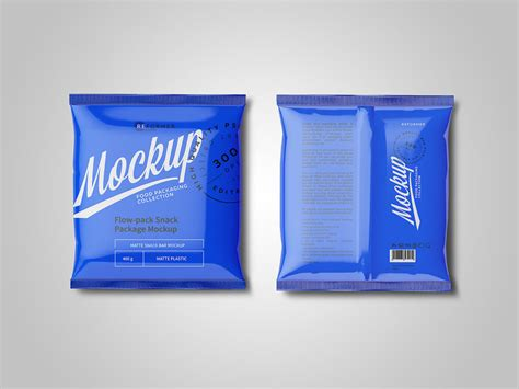 In this adobe photoshop file you can create your own fully customizable packaging project where you can display your own brand. Free Plastic Snack Package Mockup