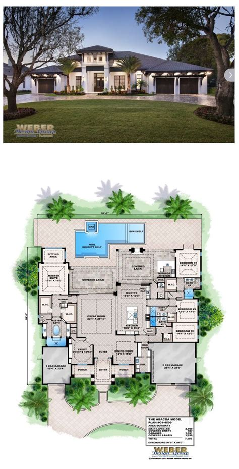 beach house plan transitional west indies caribbean style
