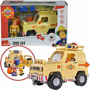 Feuerwehrmann Sam Tom : simba feuerwehrmann sam tom 39 s 4x4 gel ndewagen bei spielzeug24 ~ Eleganceandgraceweddings.com Haus und Dekorationen