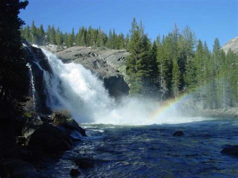 White Cascade Glen Aulin Falls World Waterfalls