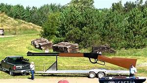 Worlds largest firing Rifle - YouTube