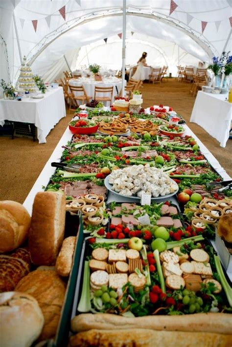 buffet bar cuisine 14 creative wedding buffets to save your budget sandwich