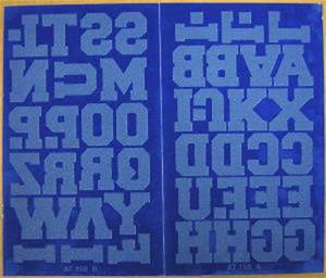 Heat pressflock transferiron letters numbers t shirt for Flock letters and numbers heat transfers
