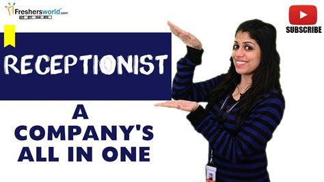 front desk hiring roles for receptionist front desk executive help
