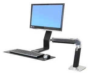 ergotron workfit a sit stand desk mount workwhilewalking com