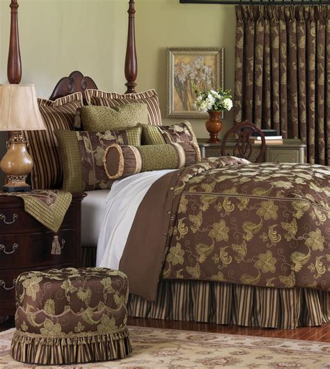 luxury bedding by eastern accents delphine collection