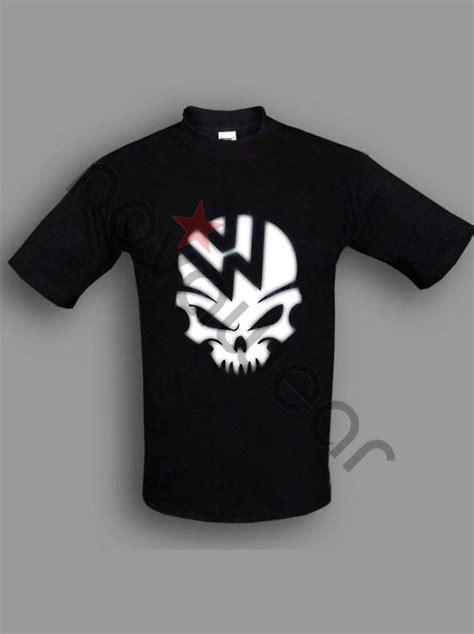 vw skull  shirt blue vw accessories volkswagen clothing
