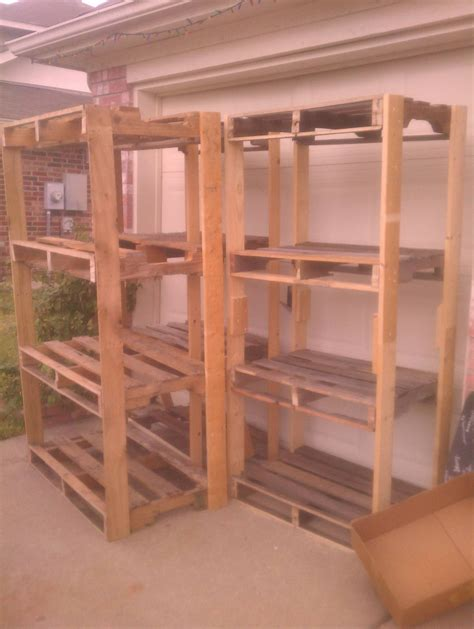 Shelving Projects by Pallet Shelves For The Garage Ryobi Nation Projects