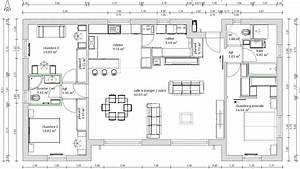 Cuisine images about plan on house plans floor plans plan for Plan de maison 110m2 4 maison accessible detail du plan de maison accessible