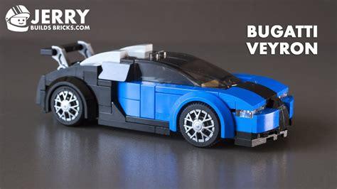 lego bugatti veyron instructions moc  youtube