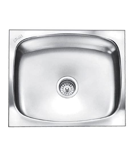 Kitchen Sink Price by Buy Nirali Kitchen Sink Single Bowl Glister Big Satin