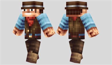 cowboy skin  minecraft minecraft skins pinterest