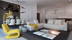 Ev Dekorasyonunda 10 Adet Modern Salon Dekorasyonu
