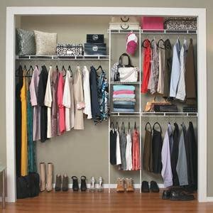 Closet Organization Kit by Closetmaid 1608 Closet Organizer Kit With Shoe