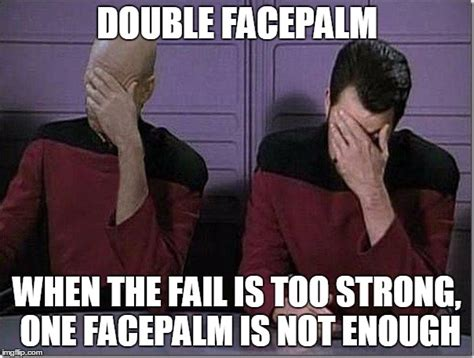 Facepalm Memes - double facepalm celtic earth spirit a resource for all who follow the old ways