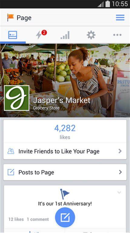 telecharger gestionnaire de pages facebook android gratuit