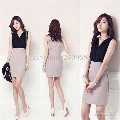 Women Pencil Dress Elegant Summer Office Wear Formal Dress