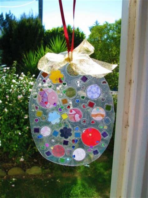 hanging easter art fun family crafts