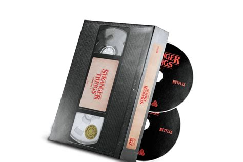 This Stranger Things DVD looks like an old VHS tape - The ...