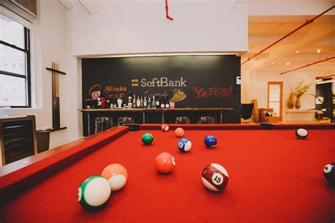 softbank capitals revamped  york city offices