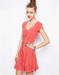 robe boutonnee devant femme With robe entièrement boutonnée devant