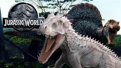 Spinosaurus Rex Indominus Jurassic Fight Battle Would